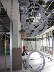 Ongoing construction work for the BCRT, Berlin Brandenburg Centre for Regenerative Therapies