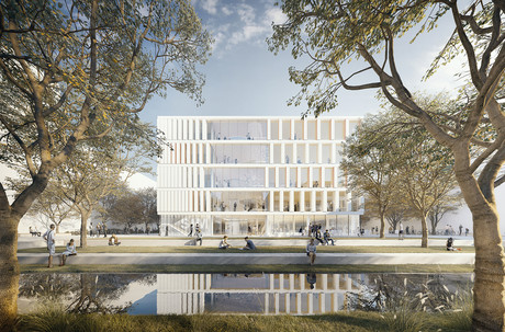 Artist's impression of the new campus Copyright: HDR, Düsseldorf