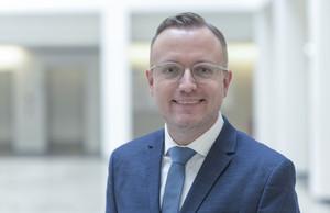 Markus Heggen, neuer Pressesprecher der Charité – Universitätsmedizin Berlin. Foto: Peitz/Charité