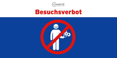 Besuchsverbot © Charité